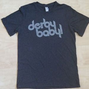 """CANVAS Graphic Tee """"derby baby!"""""""